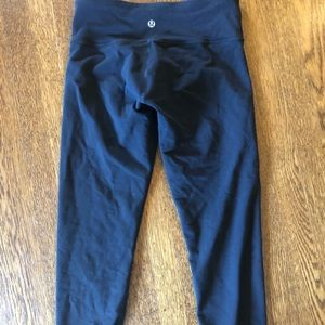 Cropped leggings - Lululemon size 6